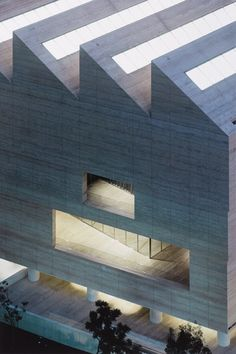 Sir David Chipperfield RA's VIEWS OF MUSEO JUMEX 2A & 2B at the RA Summer Exhibition 2015