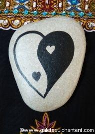 Le cœur yin yang                                                                                                                                                                                 Plus