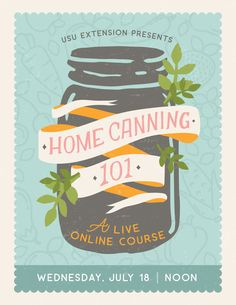 Home Canning 101 Design