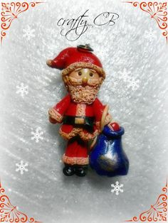 Santa Clause is coming to town. Santa Clause, Photo Editor, Clay, Christmas Ornaments, Holiday Decor, Crafts, Design, Home Decor, Papa Noel