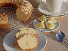 Apriti Sesamo - Cucina greca e non solo: Ciambella panna e limone