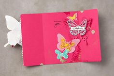 Butterfly dies are fabulous and so versatile! I found this on stampinup.com
