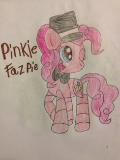 Pinkie fazPie mlp and fnaf crossover five nights at pinkie's by @Pika girl loves mlp