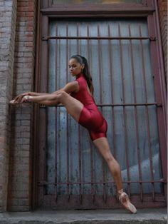 Lean Legs Sexy Ballerina Misty Copeland #SelfMagazine #sexy #booty #babes #ebony http://www.myif.cc/A1X