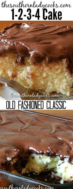 Cake is an old-fashioned classic cake and a great recipe for any occasion. Make it for any holiday, gathering or get-together. Simple and delicious. Shared by SPCN. Food Cakes, Cupcake Cakes, Cupcakes, Sweet Recipes, Cake Recipes, Dessert Recipes, 13 Desserts, Delicious Desserts, 1234 Cake