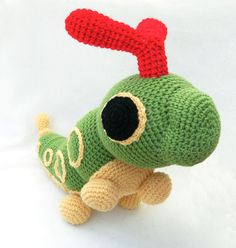 CROCHETED POKÉMON PLUSHIES: Caterpie
