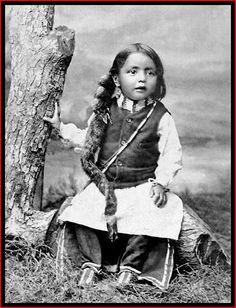 Cheyenne boy, 1895