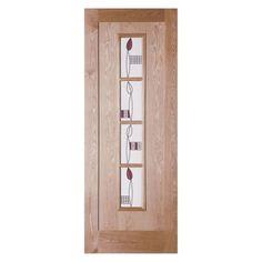 Jeld-Wen Mackintosh 4 Light Internal Door – Next Day Delivery Jeld-Wen Mackintosh 4 Light Internal Door