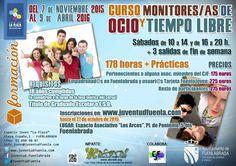 Curso de monitor de ocio y tiempo libre 2015/2016