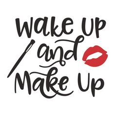 Silhouette Design Store: wake up and makeup