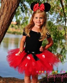 DIY Minnie Mouse tutu / perfect for parties