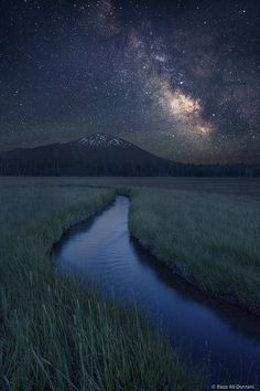 500px / Mount Bachelor Milky Way || Raza Durrani