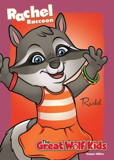 Find Rachel, and the rest of the Great Wolf Kids trading cards, at Great Wolf Lodge. Wolf Kids, Play And Stay, Great Wolf Lodge, Kids House, 3rd Birthday, Coloring Pages, Activities For Kids, Trading Cards, Niagara Falls