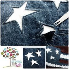What is Reverse Applique? 14 Tutorials All About it - - What is Reverse Applique? 14 Tutorials All About it DIY of Nerdiness Was ist Reverse Applique? Denim Crafts, Jean Crafts, Techniques Couture, Sewing Techniques, Sewing Projects For Beginners, Sewing Tutorials, Sewing Tips, Dress Tutorials, Sewing Hacks