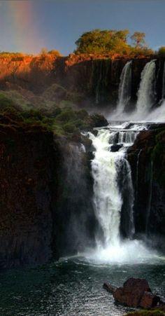 Quedas de Iguaçú em Missiones, Argentina.  Fotografia: Kim Rormark.