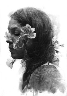 The Graphite Portraits by Thomas Cian | The Dancing Rest http://thedancingrest.com/2015/08/31/the-graphite-portraits-by-thomas-cian/