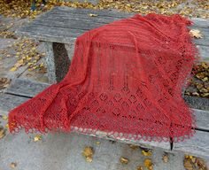 Angarika Triangular Shawl shl52 by AlpachHandMade on Etsy, $145.00