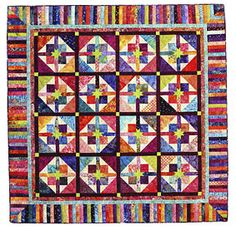 Additional Images of Best of Fons & Porter Scrap Explosion Quilts by various authors - ConnectingThreads.com