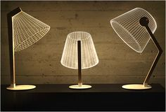 Lampe minimaliste 3D