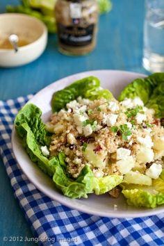 Quinoa, feta and walnut salad by mildred