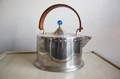 Mid Century Modern Stainless Steel Tea Pot Bodum C Jorgensen $95.00