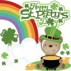 St. Patrick's Day - Miss Kate Cuttables   Product Categories Scrapbooking SVG Files, Digital Scrapbooking, Cute Clipart, Daily SVG Freebies, Clip Art