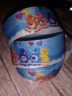 Carebears Grosgrain Ribbon by ILoveYouMoreCreation on Etsy