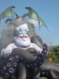 Las FALLAS de Valencia, Spain.  Ursula from The Little Mermaid.