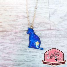 Pendiente Galaxy Cat En Stock, Ladybug, Bugs, Pendant Necklace, Jewelry, Fashion, Choker Necklaces, Chokers, Earrings