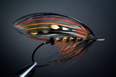 Freestyle Salmon Fly from FlyTyingArchive.com fly tying blog. #flytying #flyfishing