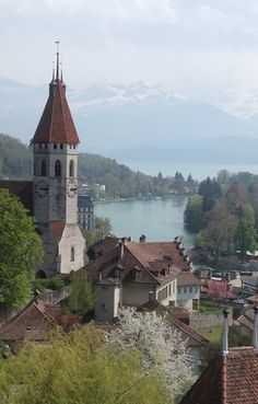 Thun, Switzerland | by Carolina Agrifoglio
