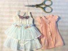 #jiajiadoll #blythe #momoko #jerryberry #yosd #msd #sd #handmade #dollclothes #dorandoran #pullip  Fairylike dress and pink shirts❤️