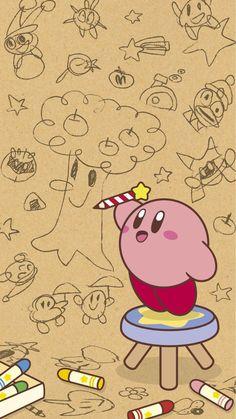 Nintendo& LINE Kirby phone wallpaper - inspiration characters Kirby Character, Game Character, Inspirational Wallpapers, Cute Wallpapers, S Tattoo, Wallpapper Iphone, Kirby Nintendo, Wallpaper Winter, Kirby Memes