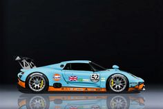 The new 918 RSR in Gulf livery