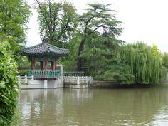 #Jukujeong (Pavillon de la pluie et de bambou) – à Jardin d'Acclimatation, #Paris #16ème arr.