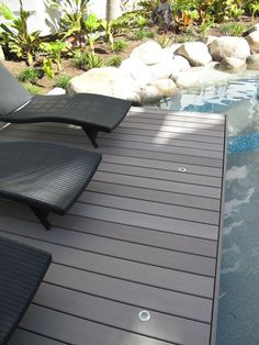 Pool decking - Latitudes Duro by Urbanline #pool #decking #composite #wood #timber #wpc #woodplasticcomposite #home #sustainable