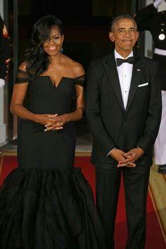 President Obama & Michele Obama