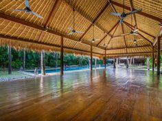 Villa Yoga | 7 bedrooms with 5, 6, 7 rental option | Seminyak, Bali #yoga #pavilion #swimmingpool #garden #modern #villa #exterior #bali #holiday #family #friends #retreat