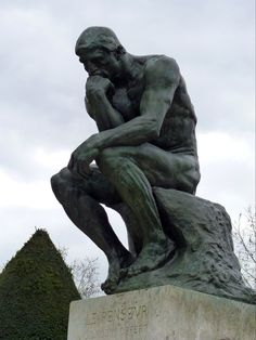 The Thinker - Musée Rodin, Paris - France (My Photo)