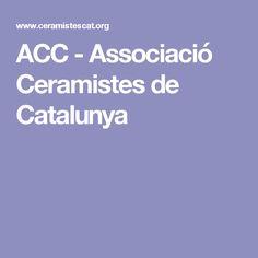ACC - Associació Ceramistes de Catalunya