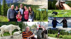 Icefields Parkway With My Family, Bears, Mountain goats And Bighorn Shee...