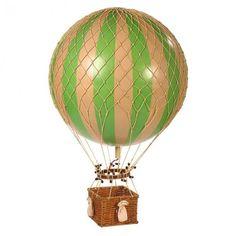 Jules Verne Balloon, Green