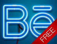 """Check out this @Behance project: """"Free neon mock-up"""" https://www.behance.net/gallery/35703813/Free-neon-mock-up"""