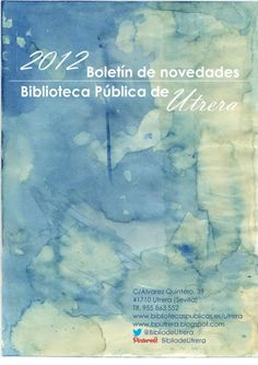 Boletín de novedades - Año 2012