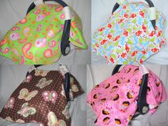 Universal Fit Customized Carseat Cover by Lucary on Etsy, $35.00