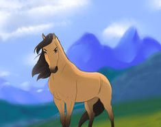 Proud stallion by Wilage Spirit Horse Movie, Spirit The Horse, Spirit And Rain, Horse Movies, Horse Books, Dreamworks Animation, Disney And Dreamworks, Spirit Drawing, Horses