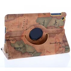 Sailing Map Pattern Stand Leather Case for iPad Mini US$13.29