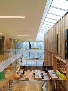 University of Oregon John E. Jaqua Academic Center for Student Athletes / ZGF Architects