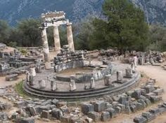 Oracle at Delphi, Greece