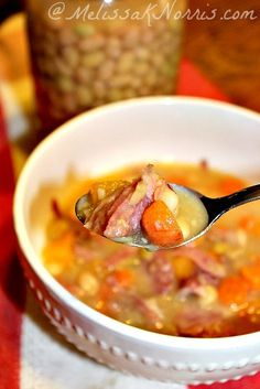 """""""The best soup I've ever eaten"""" and it only costs $.54 a serving, less if you've still got some home grown veggies in your root cellar/pantry."""